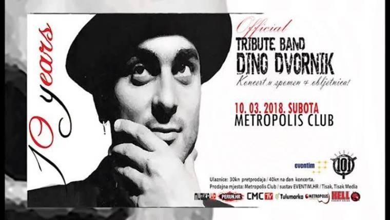 """Koncert """"NADAHNUĆE"""" 10.3.2018. godine predstavit će vam Official Tribute to Dino Dvornik u spomen na vječitog kralja funka uz zvukove mnogobrojnih hitova dobro poznati široj javnosti."""